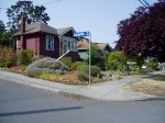 Another Haultain front yard garden Victoria BC Pacific Northwest