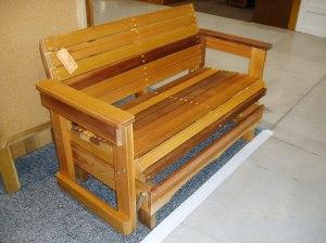 NWFGS - rocking bench