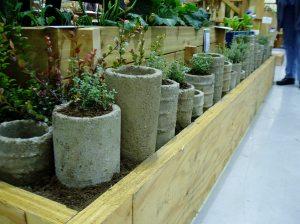 NWFGS - pipe planter