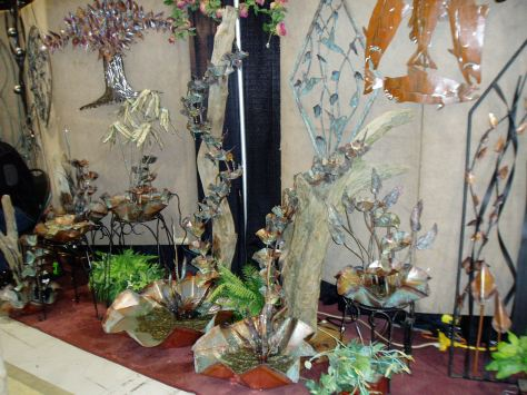 NWFGS - driftwood fountain