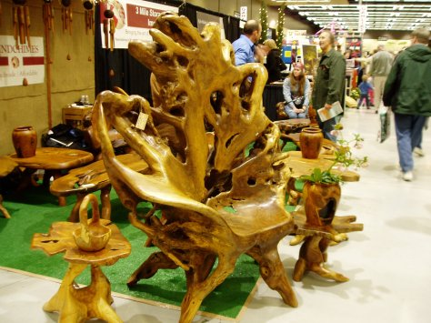 NWFGS - driftwood chair