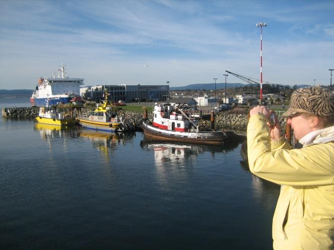 Ogden Pt. Pilot Boats, Victoria, Vancouver Island, BC, Pacific Northwest