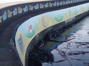 Ogden Point mural
