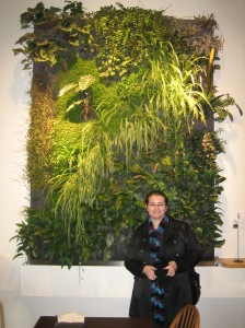 Vertical Wall Garden inside the Atrium building in Victoria