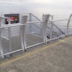 Ogden entry to lower steps