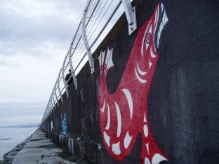 Ogden Point public art 4