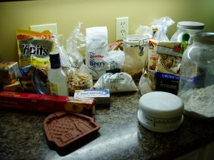 gathering ingredients