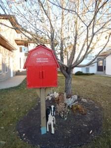 street library, Grande Prairie Alberta