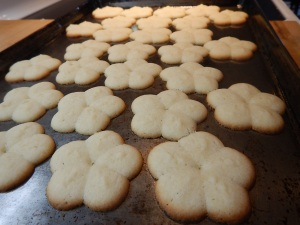 Danish Butter Cookies baking Victoria, BC