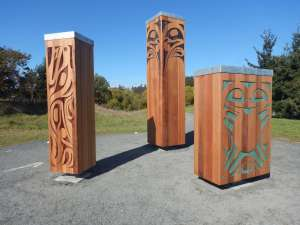 Earth Drums, Saanich, public art, Carey Newman, Victoria, Vancouver Island, BC, Pacific Northwest